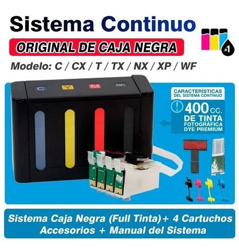 sistema continuo tinta