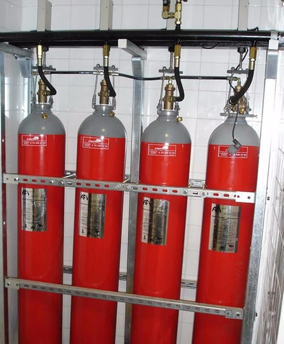 sistema contra incendio detección y extinción seco con co2