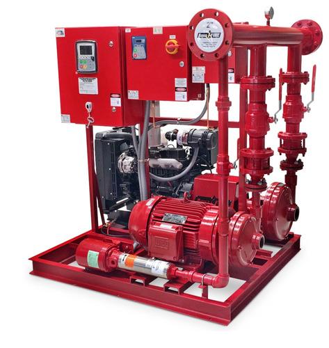 sistema contra incendios triplex, duplex, vertical  aquafire