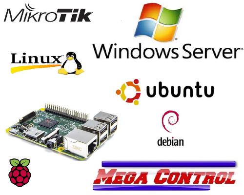 sistema control de usuarios mikrotik - windows linux remoto