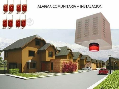 sistema de alarmas, cctv y alarmas comunitarias todo chile!¡