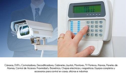 sistema de alarmas y camaras serv. tecnico e instalaciones.