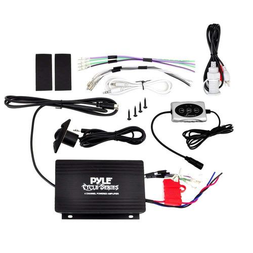 sistema de altavoz amplificador pyle plutva104bt de 4 vías