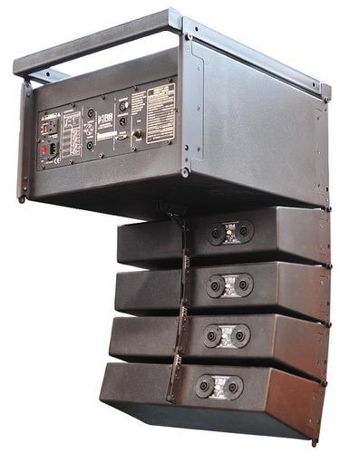 sistema de alto-falante ativo beta three r4/r8 600 watts rms