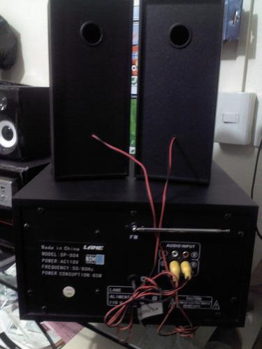 sistema de audio 2.1 con subwoofer!! oferta!! lbf