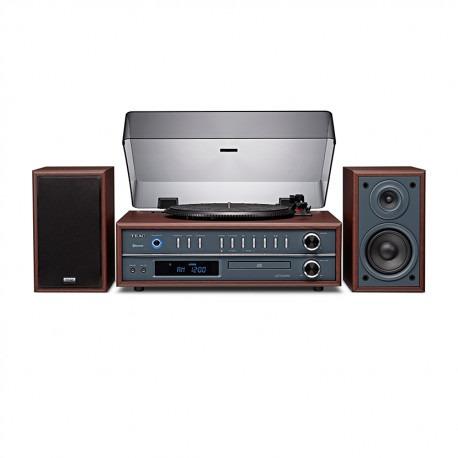 sistema de audio con tornamesa integredo teac lp-p1000