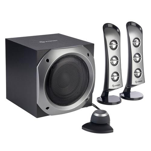 sistema de audio estéreo 2.1 canales