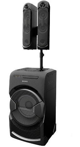 sistema de audio sony con efectos dj y karaoke-mhc-gt4d