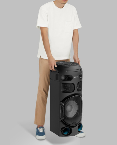 sistema de audio sony de alta potencia bluetooth   mhc-v42d