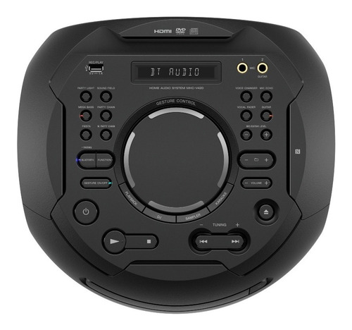 sistema de audio sony de alta potencia bluetooth - mhc-v42d