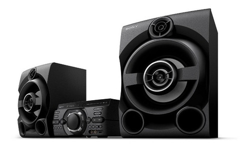 sistema de audio sony de alta potencia con dvd - mhc-m60d