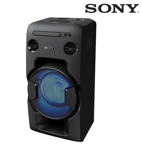 sistema de audio sony mhc-v11 470w fm/cd/bt/nfc/usb/led/efec
