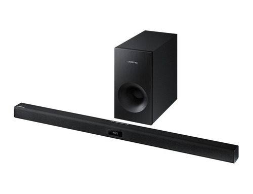sistema de barra de audio samsung 120w - hw-j355/zx