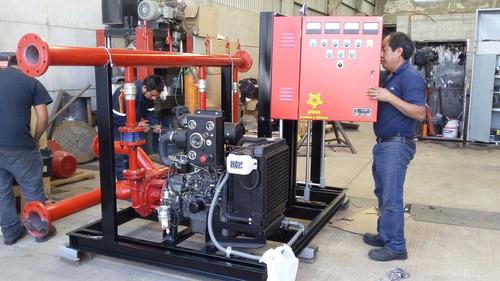 sistema de bombeo contra incendios 2