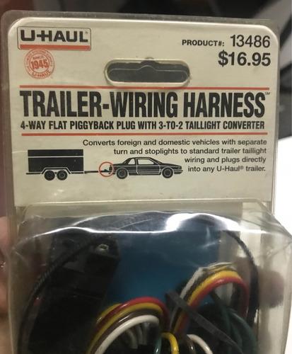 sistema de cables para trailers marca uhaul wiring harness