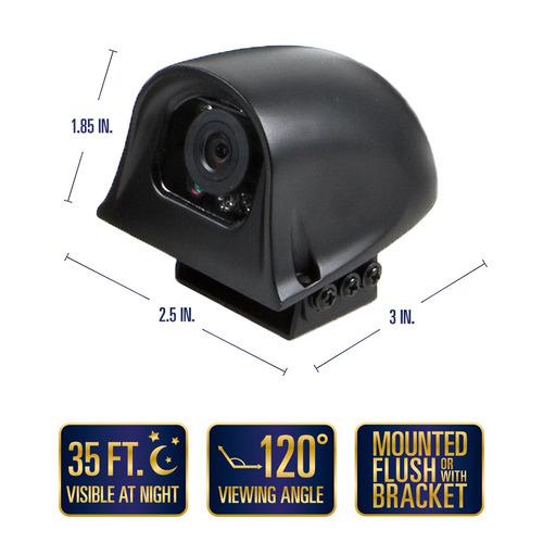 sistema de cámara de reserva rvs-770616n de seguridad con vi