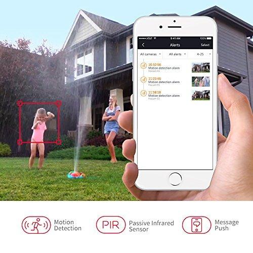 sistema de cámara de seguridad en el hogar foscam e1 sin
