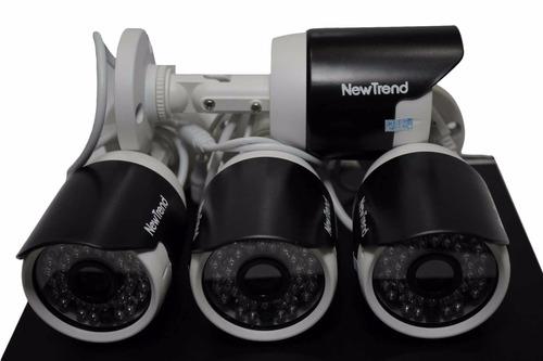 sistema de cámaras de seguridad de 4 canales hd, 720p