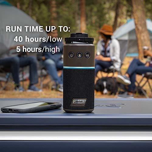 sistema de camping recargable coleman one source