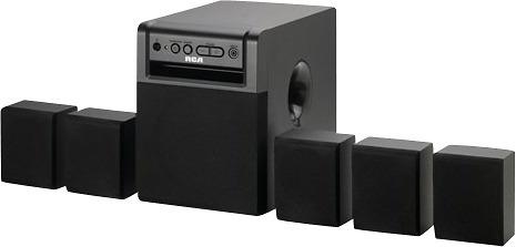 sistema de cine en casa rca de 80 vatios y 5.1 canales