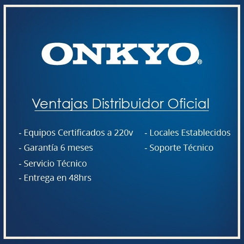 sistema de cine onkyo ht-s5805  5.1.2 atmos