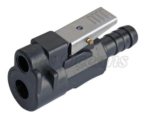 sistema de combustible - conector - mercury manguera 3/8  (
