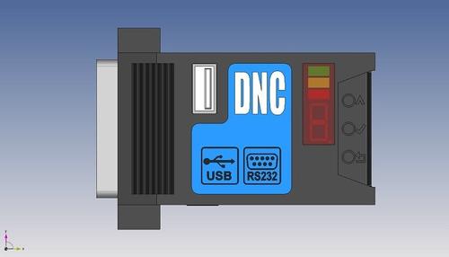 sistema de comunicação portátil para máquinas cnc/rgdnc-eco