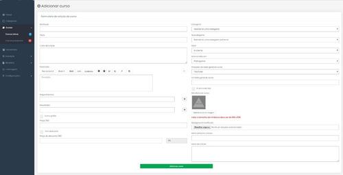 sistema de cursos online+ead,+loja, php/mysql* 1.7