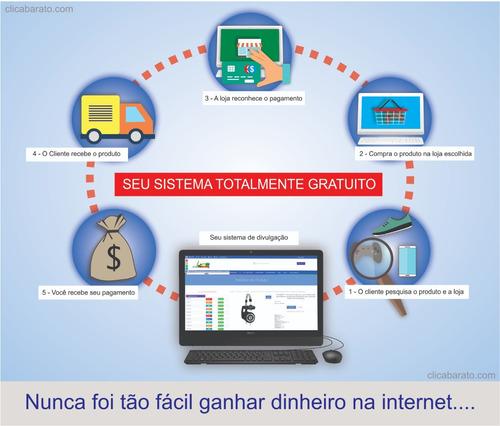 sistema de divulgação de produtos e serviços