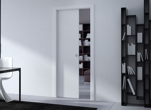 sistema de embutir porta de correr parede de drywall 62cm