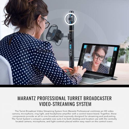 sistema de emisión podcast y video 1080p marantz profesio