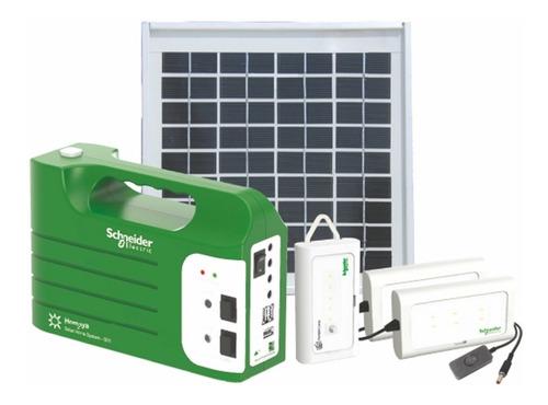 sistema de energía solar schneider electric 19.2 wh homaya