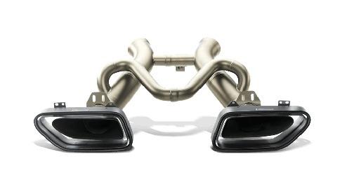 sistema de escape akrapovic mclaren mp4-12c auto titanio gcp