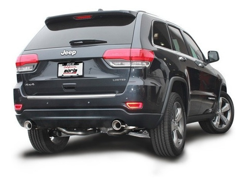 sistema de escape borla jeep grand cherokee wk2 2011 2017