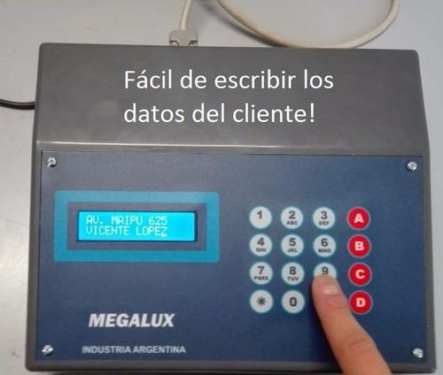sistema de facturación para estacionamientos megalux