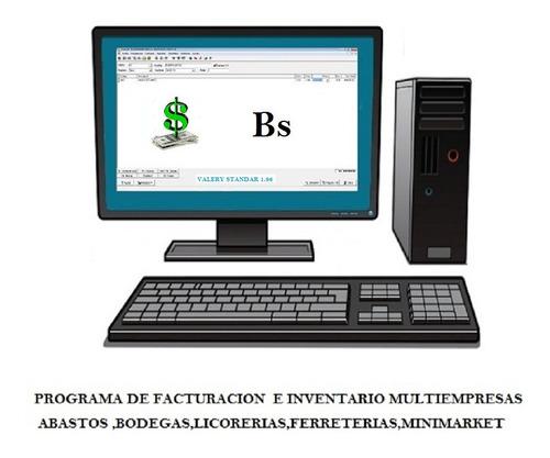 sistema de facturacion saint +valery 2en1 inventario