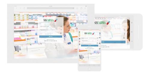 sistema de farmacia multisucursal-web-ventas-compras+ codigo