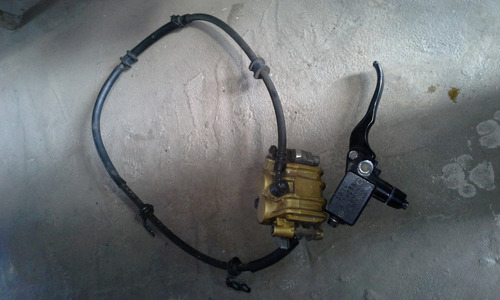 sistema de freio dianteiro moto  xre e tornado ( burrinho  )