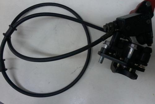 sistema de freio hidraúlico dianteiro mini moto cross 125cc