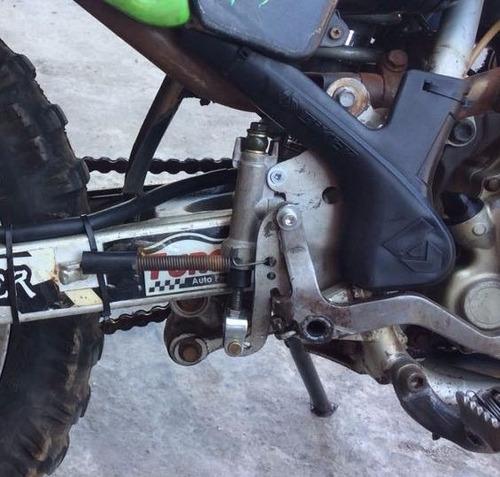 sistema de freio traseiro crf230 pronto para adaptação 1kit