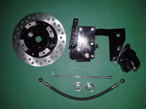 sistema de freio traseiro disco biz100 / 125 - pop100 / 110i