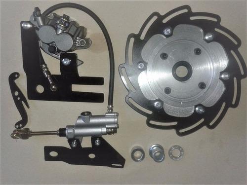 sistema de freio traseiro disco cross crf230 / crf sportivo