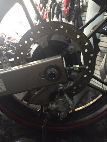 sistema de freio traseiro fazer 250 par de bacalhau e roda
