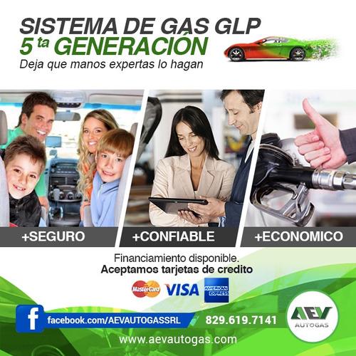sistema de gas glp sin inicial