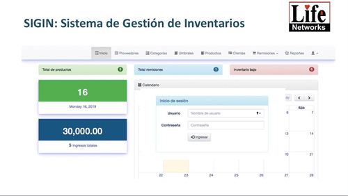 sistema de gestión de inventarios