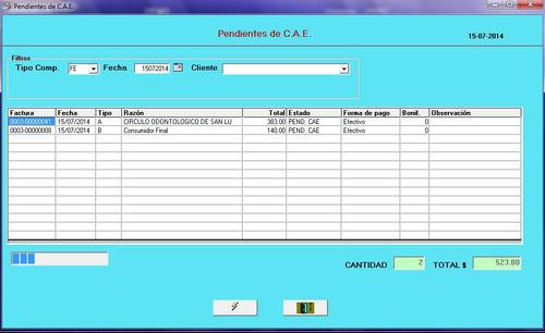 sistema de gestión y facturación electrónica