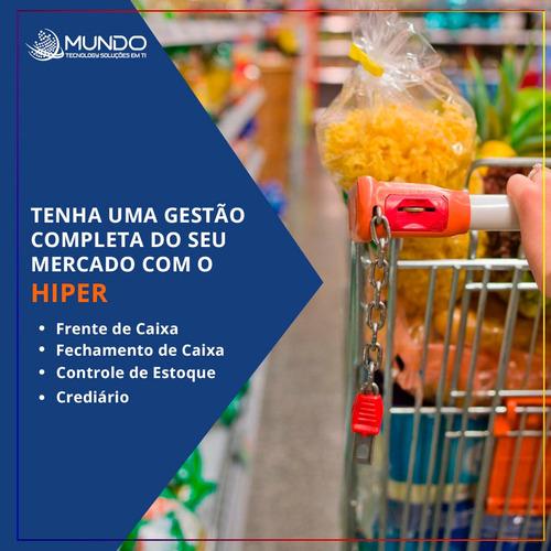 sistema de gestão automação comercial p/ loja e comércio