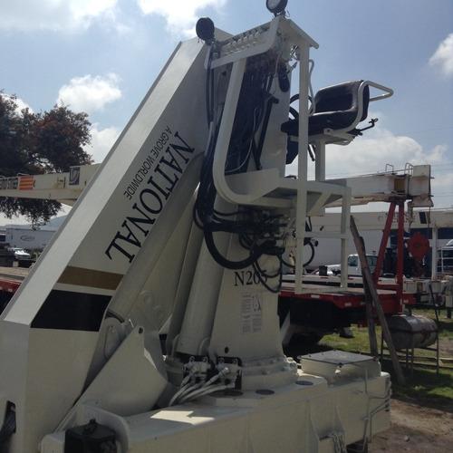 sistema de grua national crane 14 ton