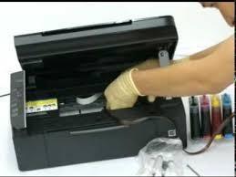 sistema de instalación y reparación de tinta continuo