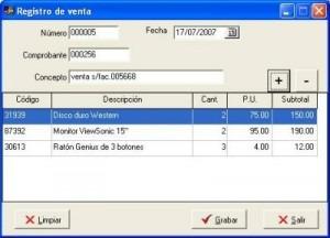 sistema de inventario multi inventario con reportes cecop